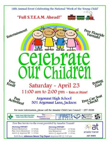 Celebrate Our Children Flyer 2016