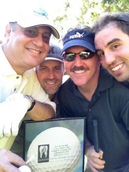 Jackson Creek Dental Group Doctors At Golf Tournament